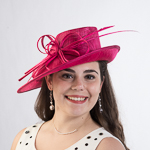 Feather Bow Elastic Fascinator Cocktail Hats