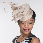 Sinamay Top Fascinator Cocktail Hats