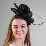 Polyhemp Headband Fascinator Cocktail Hats