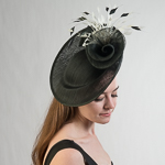 Polyhemp Sinamay Headband Fascinator Cocktail Hats