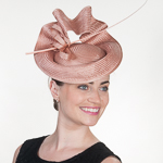 Buntal Straw Elastic Fascinator Cocktail Hats