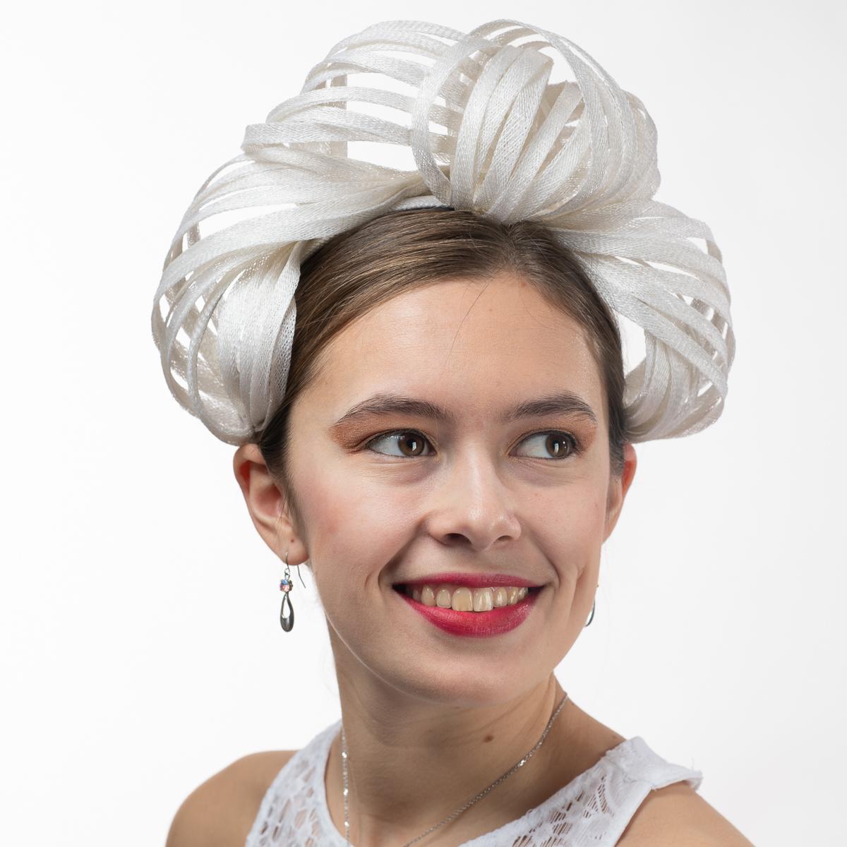 595198c62 Princess Leia Sinamay Headband Fascinator Cocktail Hats-102054- Sun ...
