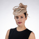 Sinamay Quill Pointed Headband Fascinator Cocktail Hats