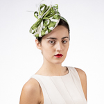 Grip Sinamay Button Headband Fascinator Cocktail Hats