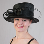 Royal Queen Sinamay Hat