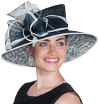 Lamp Pointed Crown Sinamay Hats