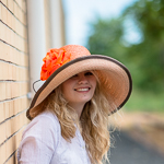 Large Two-Tones Raffia Sun Hats