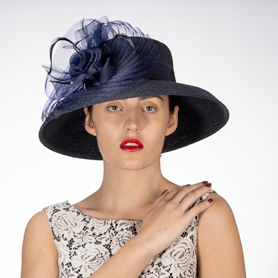 Flower With Pleats Sun Protection Straw Hats