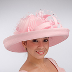 Large Veiling Flower Bow Sun Protection Hats