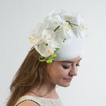 Orchid Pillbox Hats
