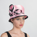 Satin Ribbon Bubble Hat