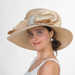 Satin Ribbon Sun Hats