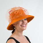 Lampshade Hat - Crinoline Feather Hats