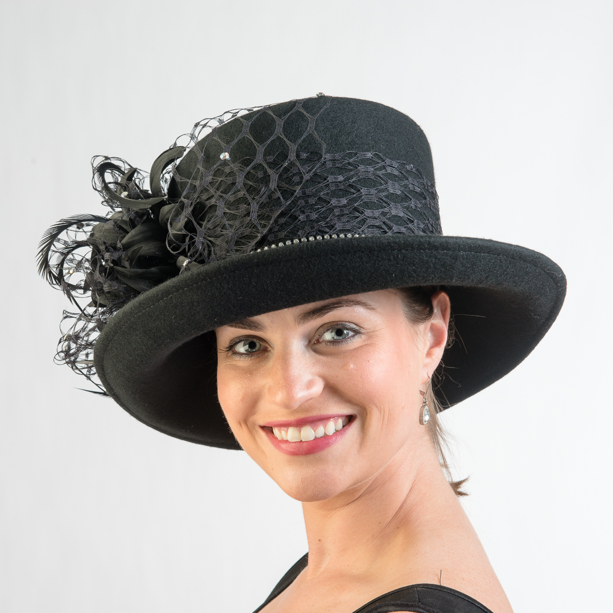 Find great deals on eBay for black veil hat. Shop with confidence.