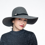 Swinger Wool Felt Hats with Pin