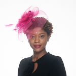 Crinoline Comb Fascinator Cocktail Hats