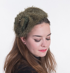 Chenille Headband Fascinator Cocktail Hats