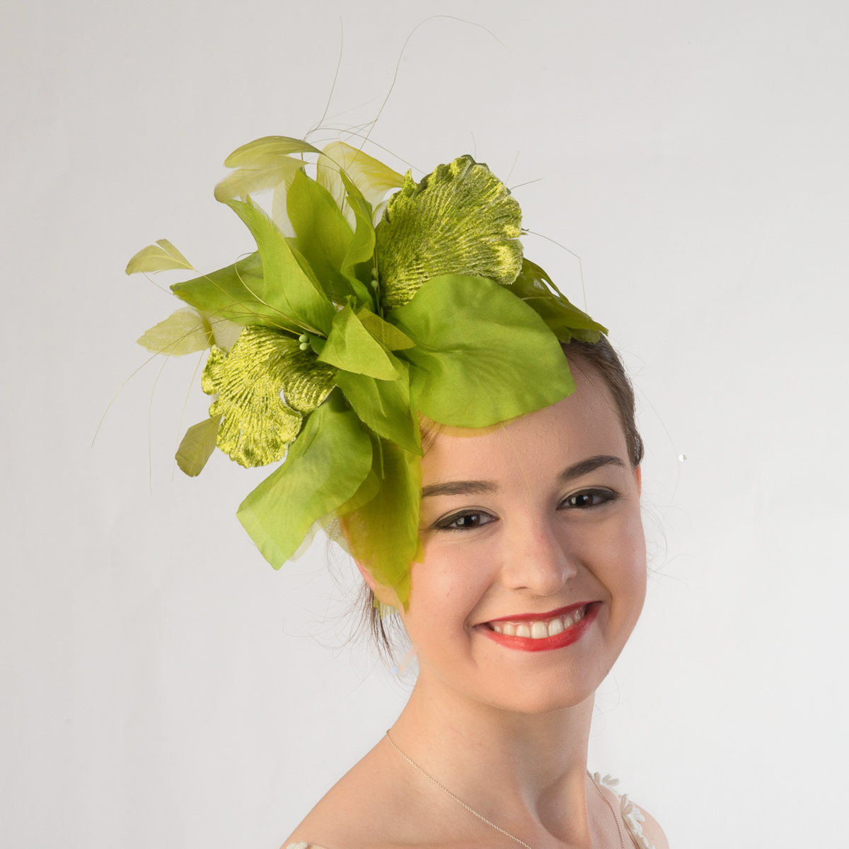 Silk Flower Velvet Headband Fascinator 5749H Sun Yorkos
