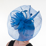 Royal Large Plaid Sinamay Headband Fascinator Cocktail Hats