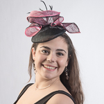 Small Sinamay Fascinator Cocktail Hats