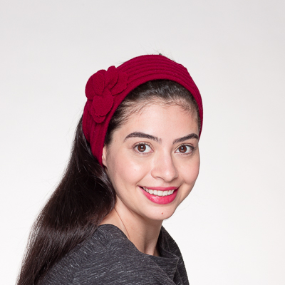 Wool Knitted Headband Wrap
