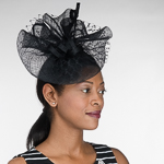 Sinamay Veil Headband Fascinator Cocktail Hats