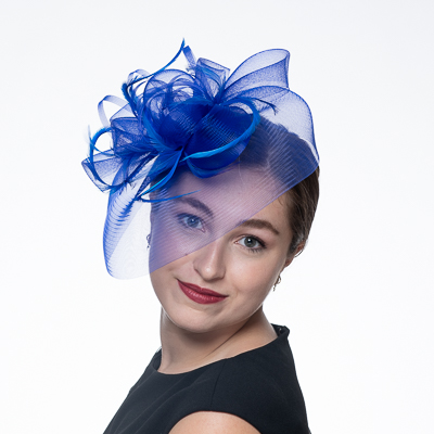 Crin Feather Comb Fascinator Cocktail Hats