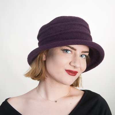 Wool Knitted Bucket Hat