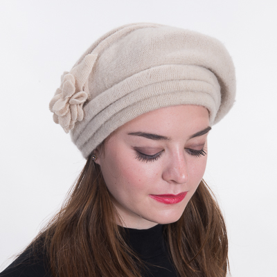 Wool Knitted Beret