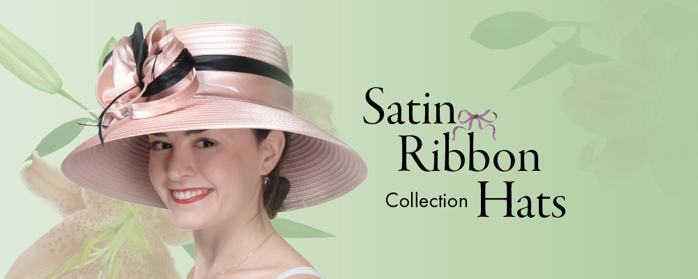 512cc4af Satin Ribbon all year round hats - Sun Yorkos | KaKyCo Accessories