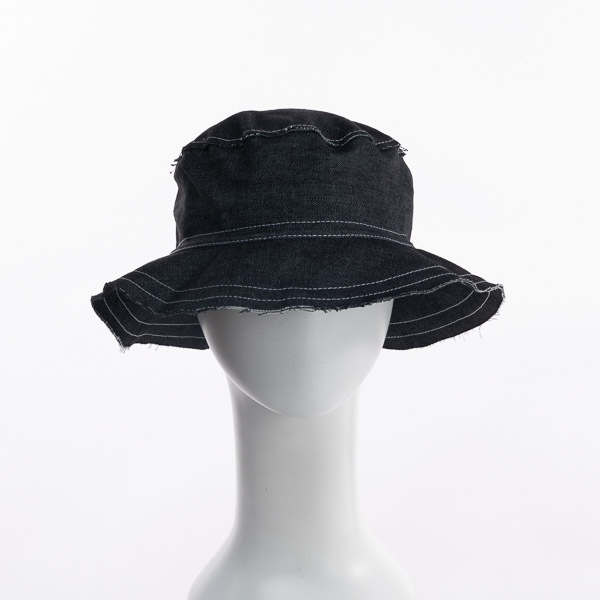 Denim Cloche Canvas Hats