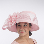 Pink Veil Flower Sun Protection Hats