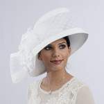 White Veil Flower Sun Protection Hats
