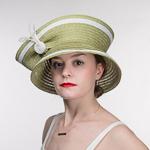 d41e015570040 Olive White Small Dome Shape Hemp Hat
